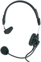 "Telex PH-88-IC3-QD Single-Sided Headset W/ 1/8"" Split Feed & Quick Disconnect"