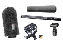 Sennheiser MKH416 Shotgun Mic Package W/ Rycote Softie & Shock Mount Kit