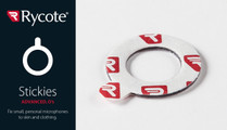 Rycote Stickes Advanced, 23mm O's - Pack of 25