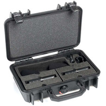 DPA d:dicate™ ST2011C STEREO PAIR WITH TWO 2011C, CLIPS AND WINDSCREENS IN PELI™ CASE
