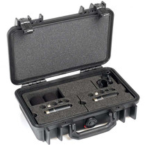 DPA d:dicate™ ST4006C STEREO PAIR WITH TWO 4006C, CLIPS AND WINDSCREENS IN PELI™ CASE