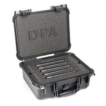DPA d:mension™ 5015A SURROUND KIT WITH FIVE d:dicate™ 4015A, CLIPS AND WINDSCREENS IN PELI™ CASE