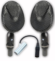 Coles 4038 MP Studio Ribbon Microphone (Matched Pair) with 4071B Mount