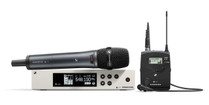 Sennheiser EW100 G4-ME2/835-S Evolution Wireless G4 Lavalier/Vocal Combo Set (ME2 & e835)