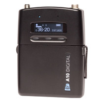 Audio Ltd A10-TX-US Digital Body Pack Wireless Transmitter