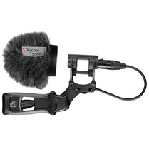 Rycote 033313 5cm Classic Softie Kit (24/25mm Mics) with Lyre Mount / Pistol Grip / Cable
