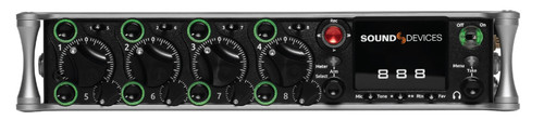 Sound Devices 888 8-Input / 20 Track Field Production Mixer