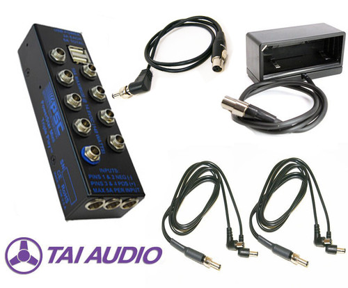 PSC BDS System Package w/ Triple Play, Np Cup, 2 Dual Std & 1 TA4F Power Cables For Sound Devices 833/888/Scorpio