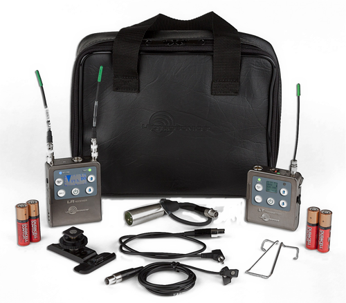 Lectrosonics L Series, LR Receiver/LT Beltpack Transmitter with Mic and Accessory Kit A1 (470.100 - 537.575 MHz)