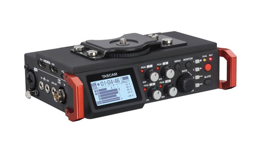 Tascam DR-701D Portable Audio Mixer/Recorder for Video Production
