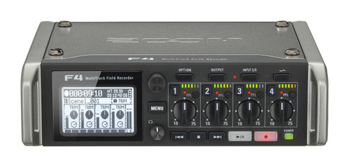 Zoom F4 6-Channel Multitrack Recorder With Time Code