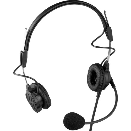 "Telex PH-44-IC3 Dual-Sided Lightweight Headset With 1/8"" Spit Feed"