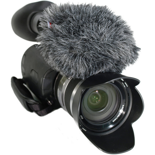 Rycote Mini Windjammer and Foam for Sony NEX VG 10/20 Camcorders