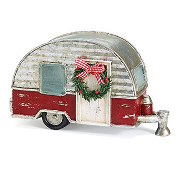 Burton and Burton 9733847 Light Up Silver/Red Camper, Multicolor