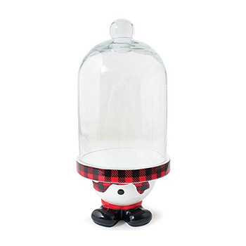 Burton and Burton 1871317 Snowman Bottom Cupcake Stand, Multicolor