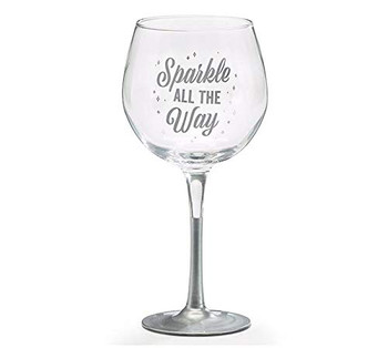 Burton and Burton Sparkle All The Way Stemmed Wine Glass