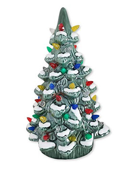 Burton & Burton Decor Lighted Christmas Tree