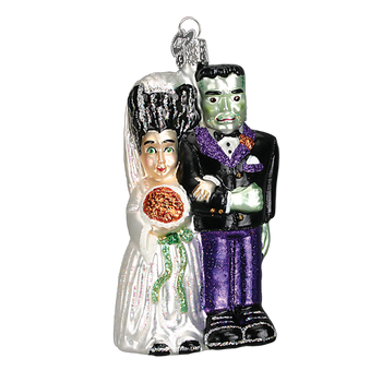 Old World Christmas: FRANKENSTEIN & BRIDE