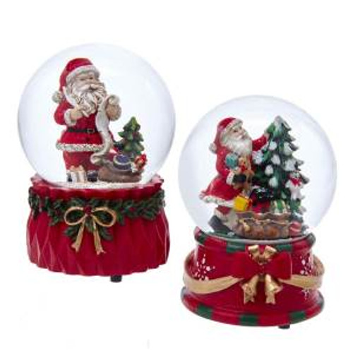 Musical Santa Waterglobe
