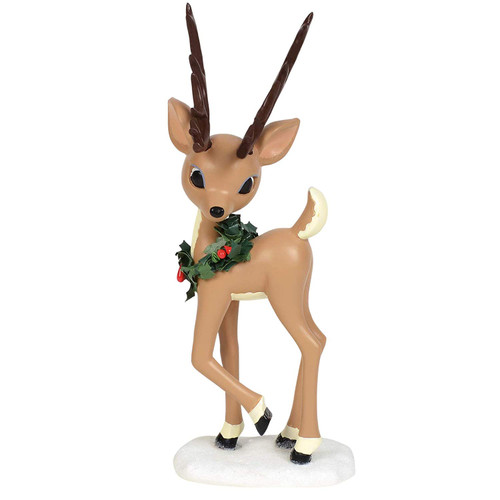Department 56 Rudolph The Red-Nosed Reindeer Donner Figurine, 7.75 Inch, Multicolor