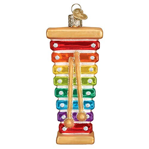Old World Christmas Toy Xylophone Ornament, Multi