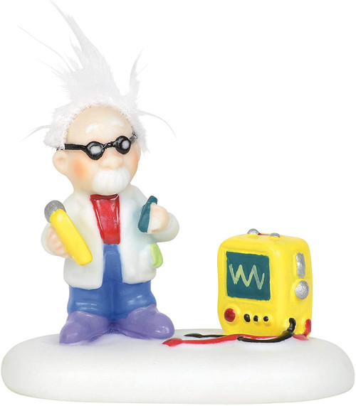 Department 56 North Pole Village Accessories Static Electricity Expert Figurine, 1.5 Inch, Multicolor