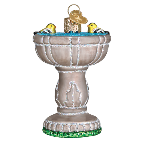 Old World Christmas: Birdbath