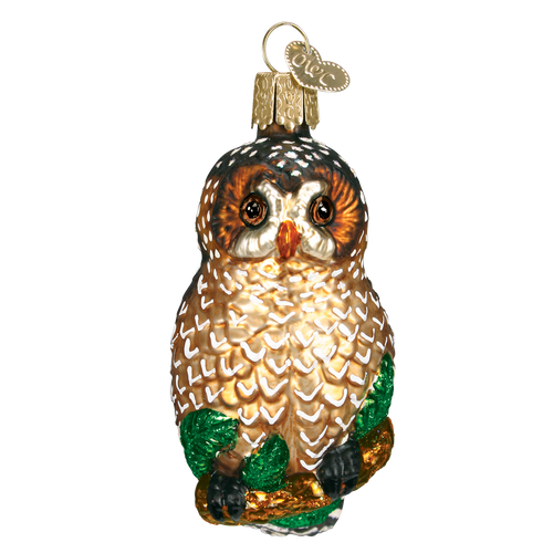 Old World Christmas: SPOTTED OWL