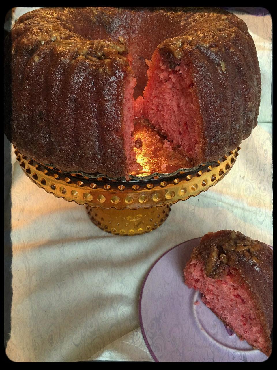 Strawberry Creme RumChata! Rum Cake