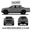 2018 Mercedes Benz X-Class Vector Template