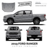 2019 Ford Ranger PX3 vector Template