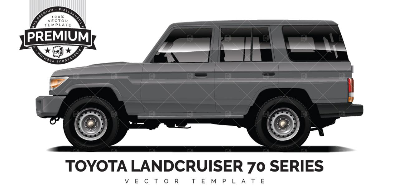 Toyota Land Cruiser 70 >> Toyota Landcruiser 70 Series Premium