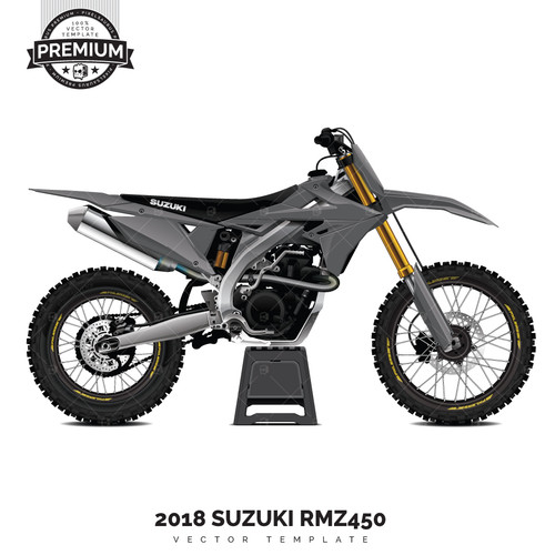 Pixelsaurus Suzuki RMZ-450 'Premium' Vector Template