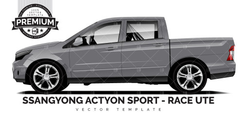 Ssangyong Actyon Sport - Race Ute 'PREMIUM'