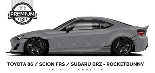 Toyota 86 / Scion FRS / Subaru BRZ - Rocketbunny 'PREMIUM'