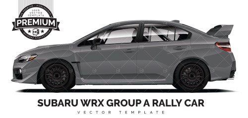 2015 Subaru WRX - Group A Rally Car 'PREMIUM'