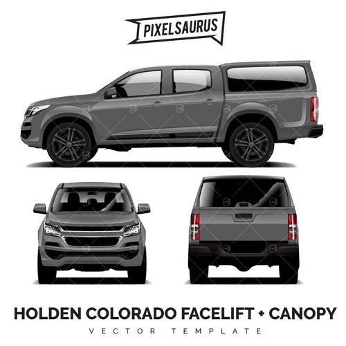 2017 Holden / Chevrolet Colorado LTZ + Canopy