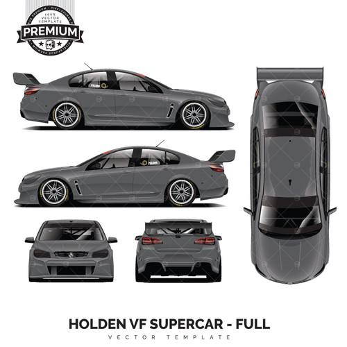 Holden VF Supercar 'Premium' Full Template