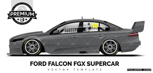 Ford FG X Falcon Supercar 'Premium' Template