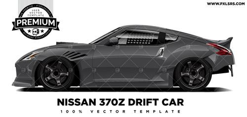 Nissan 370z 'Premium' Vector Template