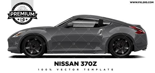 Nissan 370z Fairlady 'Premium' Vector Template