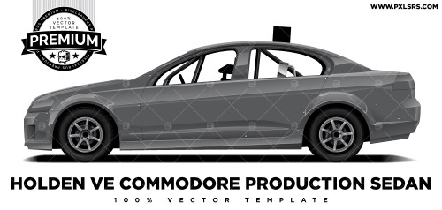 Holden VE Commodore Production Sedan 'Premium' Vector Template
