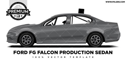 Ford FG Falcon Production Sedan 'Premium' Vector Template