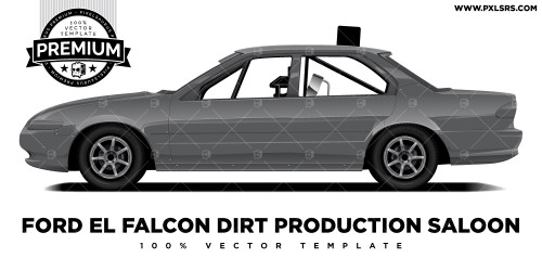 Ford EL Falcon Production Sedan 'Premium' Vector Template