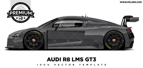 Audi R8 LMS GT3 'Premium' Vector Template