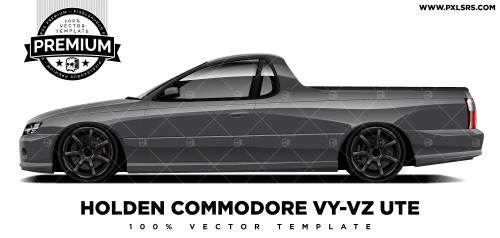 Holden Commodore VY-VZ Ute 'Premium' Vector Template