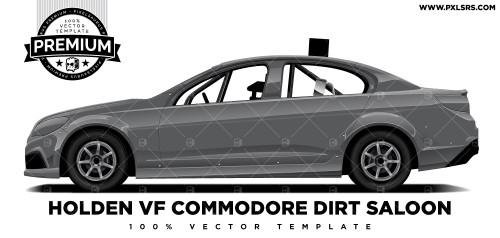Holden VF Commodore Production Sedan 'Premium' Vector Template