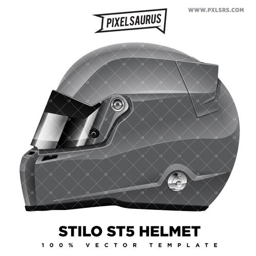 Stilo ST5 Helmet - Vector Template