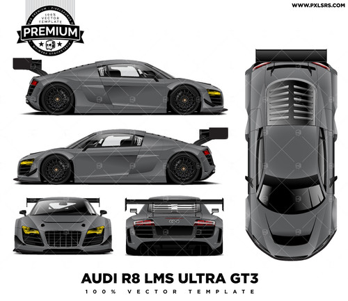 Audi R8 LMS ULTRA 'PREMIUM' Full Template