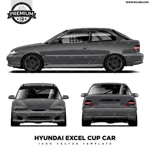 Hyundai Excel Cup - Full 'Premium' Vector Template